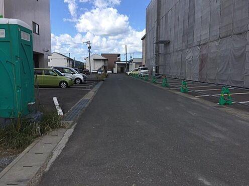 アパート-福井市西谷1丁目 前面道路