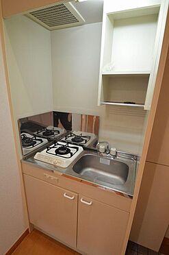 アパート-横浜市西区久保町 人気のガスキッチン