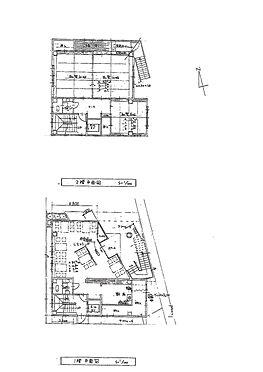 店舗付住宅(建物全部)-和歌山市中之島 間取り