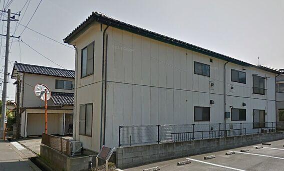 アパート-新潟市西区五十嵐2の町 外観