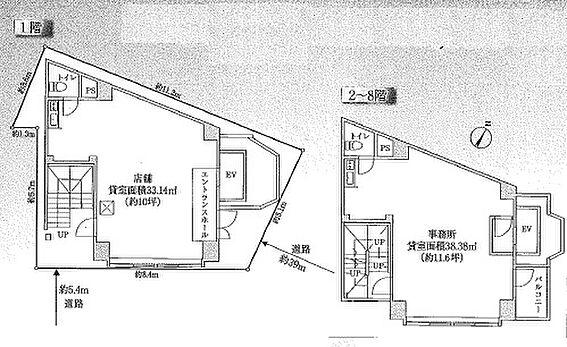 ビル(建物全部)-板橋区氷川町 間取り