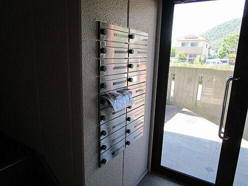 マンション(建物全部)-岐阜市日野南7丁目 プライバシーに配慮したダイヤルロック式の集合ポスト。