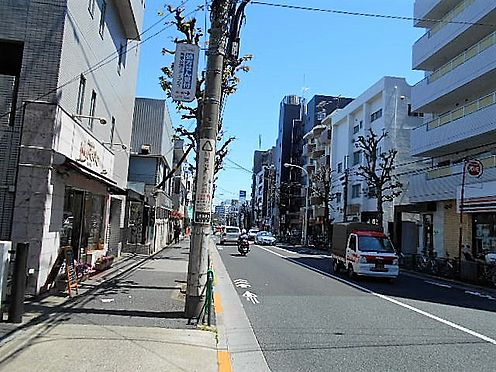 マンション(建物全部)-世田谷区桜3丁目 前面道路