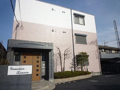 アパート-久喜市久喜東1丁目 外観(南西側より撮影)