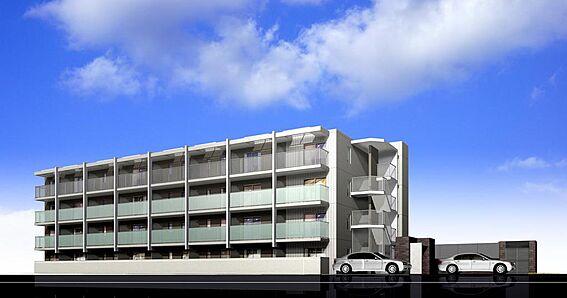 マンション(建物全部)-福岡市南区井尻3丁目 建物南側イメージ