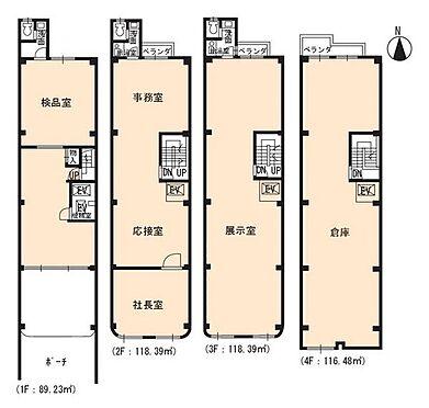 ビル(建物全部)-京都市下京区官社殿町 間取り