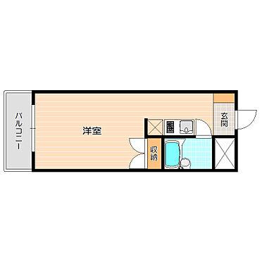 アパート-大田区池上3丁目 単身者向けのシンプルなお部屋、