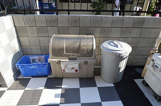 マンション(建物全部)-川崎市川崎区小川町 蓋付でゴミの散乱を防ぎます