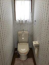トイレは2か所、忙しい朝も困りません