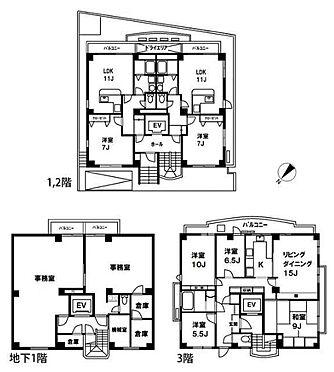 マンション(建物全部)-港区白金台5丁目 間取り