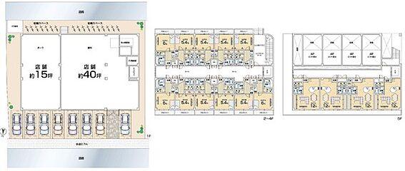 マンション(建物全部)-枚方市都丘町 EV付店舗×2戸1K×37戸外大徒歩2分