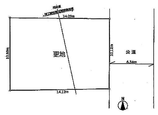 土地-大田区西糀谷3丁目 区画図