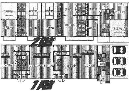アパート-仙台市泉区根白石字町西上 間取り