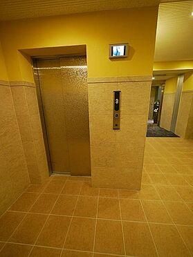 マンション(建物全部)-東広島市高屋町杵原 モニター設置のエレベーター