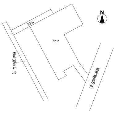 土地-水戸市住吉町 区画図