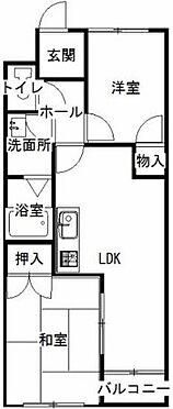 マンション(建物一部)-上田市長瀬 間取り