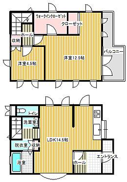 アパート-行田市大字若小玉 間取り