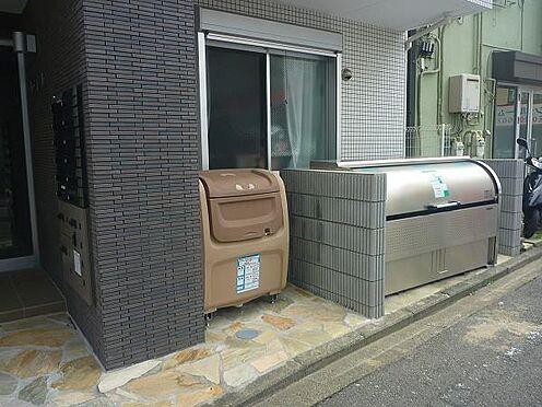 マンション(建物全部)-横浜市南区共進町1丁目 外観:ゴミ置き場
