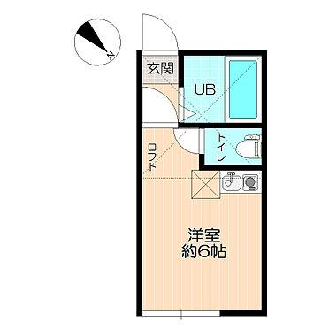 アパート-横浜市港北区鳥山町 人気のB/T別。ロフト付。