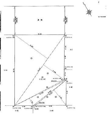 マンション(建物全部)-江東区古石場1丁目 区画図