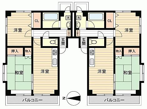 マンション(建物全部)-仙台市青葉区吉成1丁目 間取り