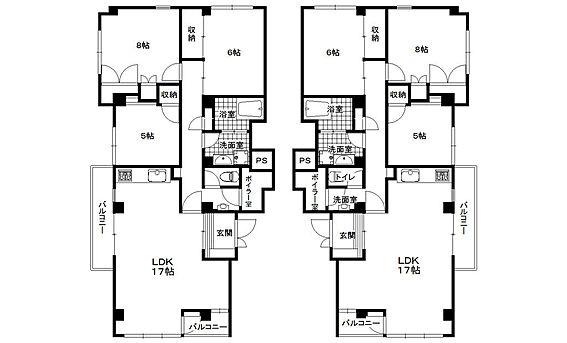 マンション(建物全部)-芦屋市山手町 全4層