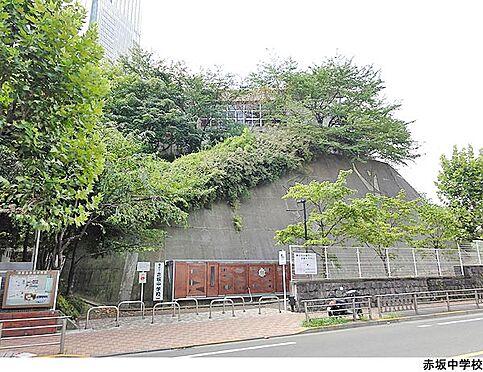 マンション(建物一部)-港区赤坂6丁目 赤坂中学校
