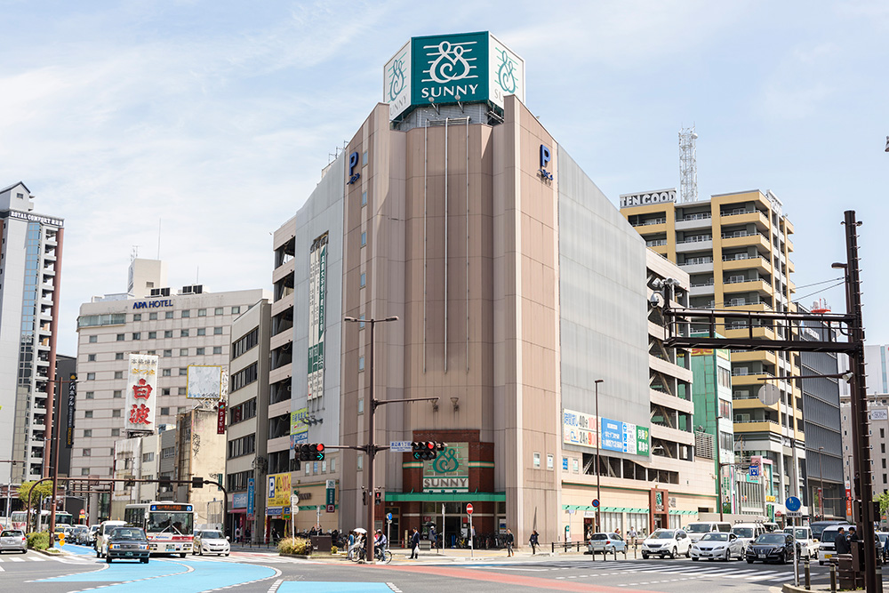 サニー渡辺通店 約380m(徒歩5分)