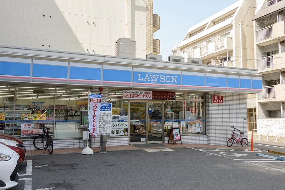 ローソン福岡高砂1丁目店 約30m(徒歩1分)