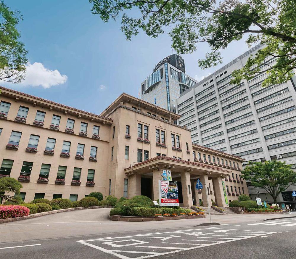 静岡県庁 約580m(徒歩8分)