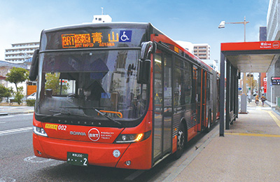 新潟交通BRT線「東中通」バス停(白山駅・青山方面) 約220m(徒歩3分)