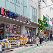 上原銀座商店街 約500m(徒歩7分)