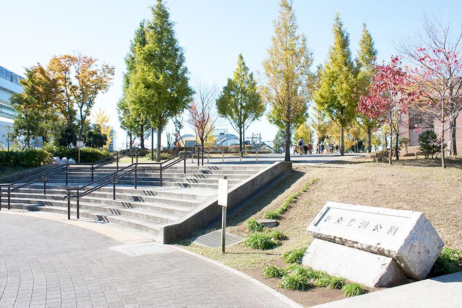 豊洲公園 約1,400m(自転車6分)