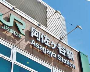 JR「阿佐ヶ谷」駅 約620m(徒歩8分)