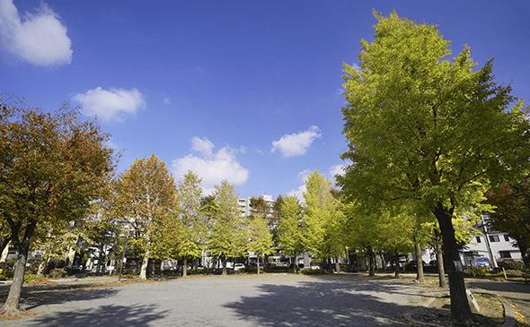 稗田公園 約150m(徒歩2分)