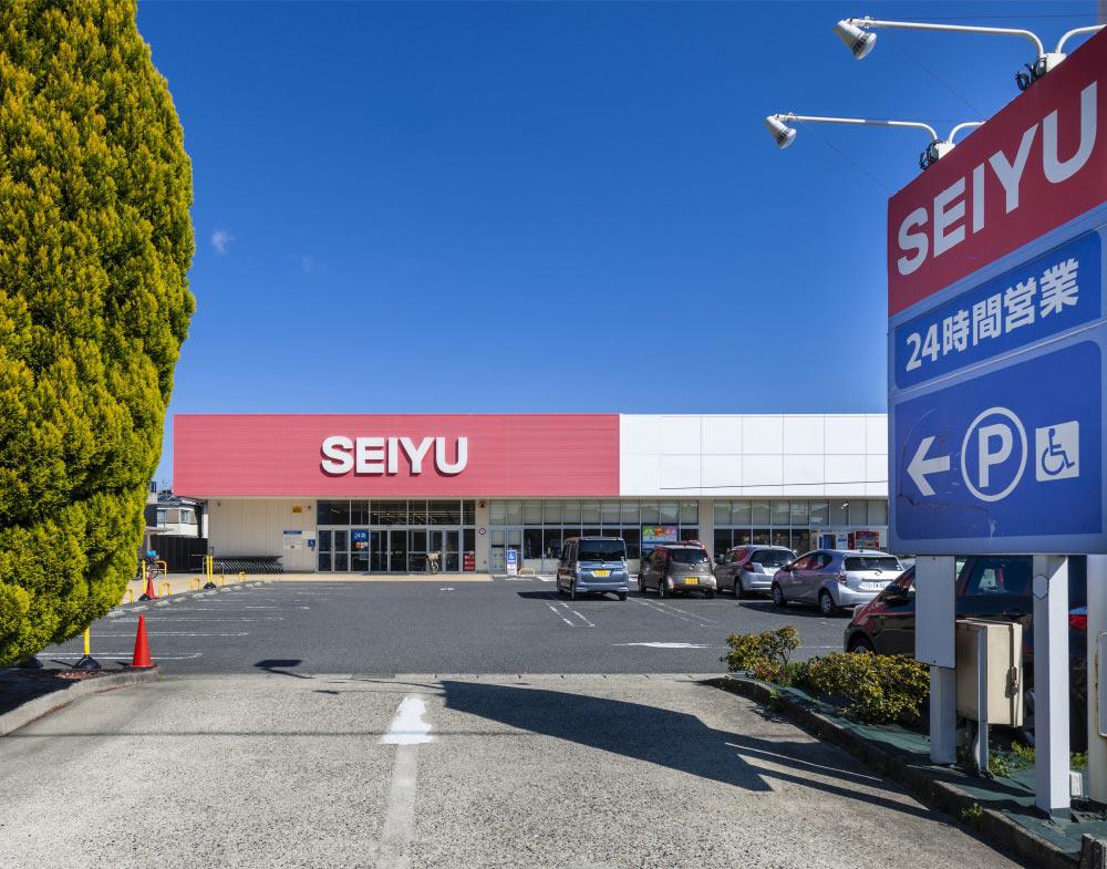 西友勝川店 約1,570m(自転車6分)