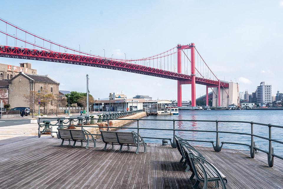 若戸大橋 約950m(車2分)
