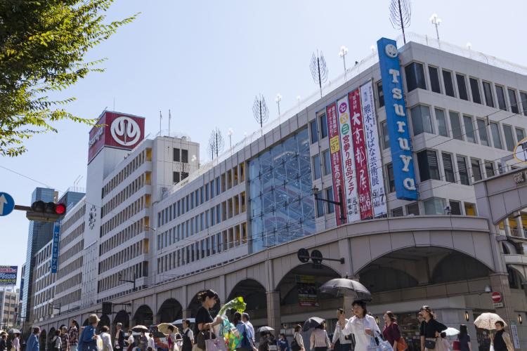 鶴屋百貨店 約1,660m(徒歩21分)