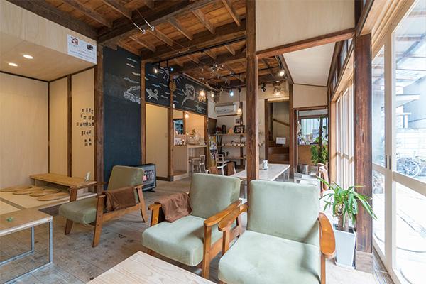 庭の家のカフェ ひだまり 約570m(徒歩8分)