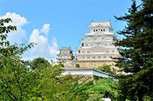 姫路城 約1,000m(徒歩13分)