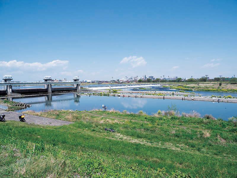 多摩川 約1,150m(徒歩15分)