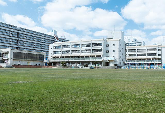 神戸市義務教育学校港島学園 約840m(徒歩11分)