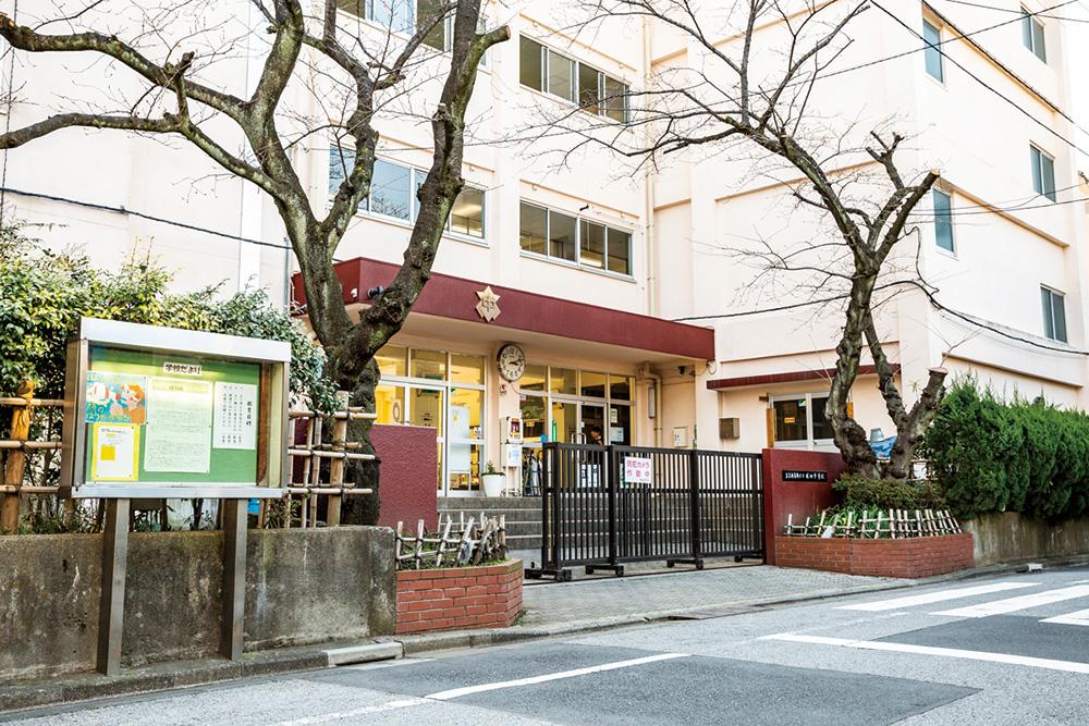 区立堀切中学校 約420m(徒歩6分)