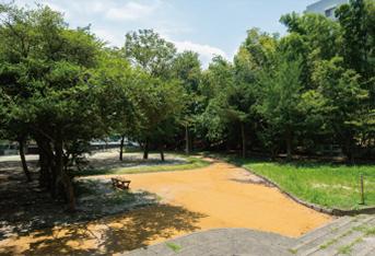 長丘緑地 約370m(徒歩5分)