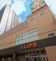 ライフ堺筋本町店 約300m(徒歩4分)