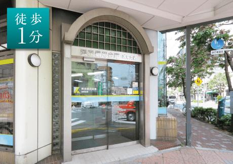 興産信用金庫 浅草支店 約50m(徒歩1分)