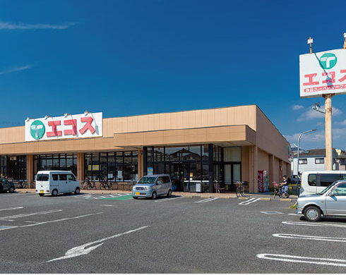 エコス市川島尻店 約300m(徒歩4分)
