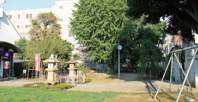 大観音児童遊園 約30m(徒歩1分)