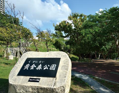 黄金森公園 約840m(徒歩11分)