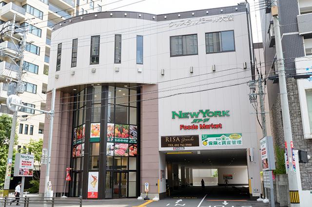 ニューヨークストアセントラルパーク店 約580m(徒歩8分)